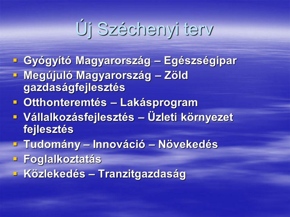 Új Széchenyi terv Gyógyító Magyarország – Egészségipar