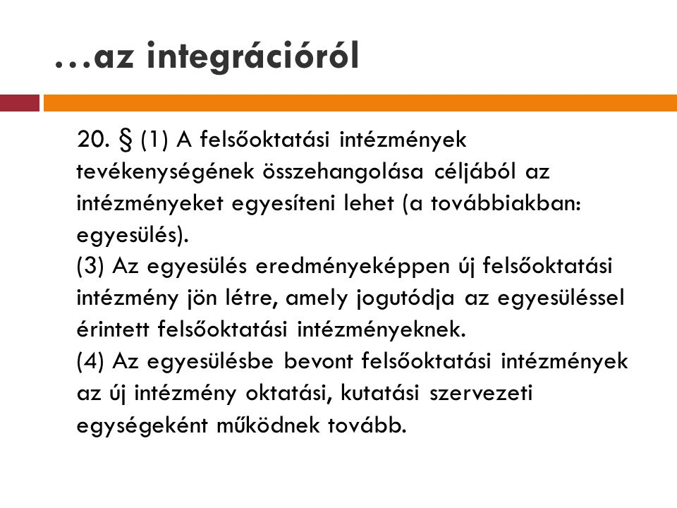 …az integrációról