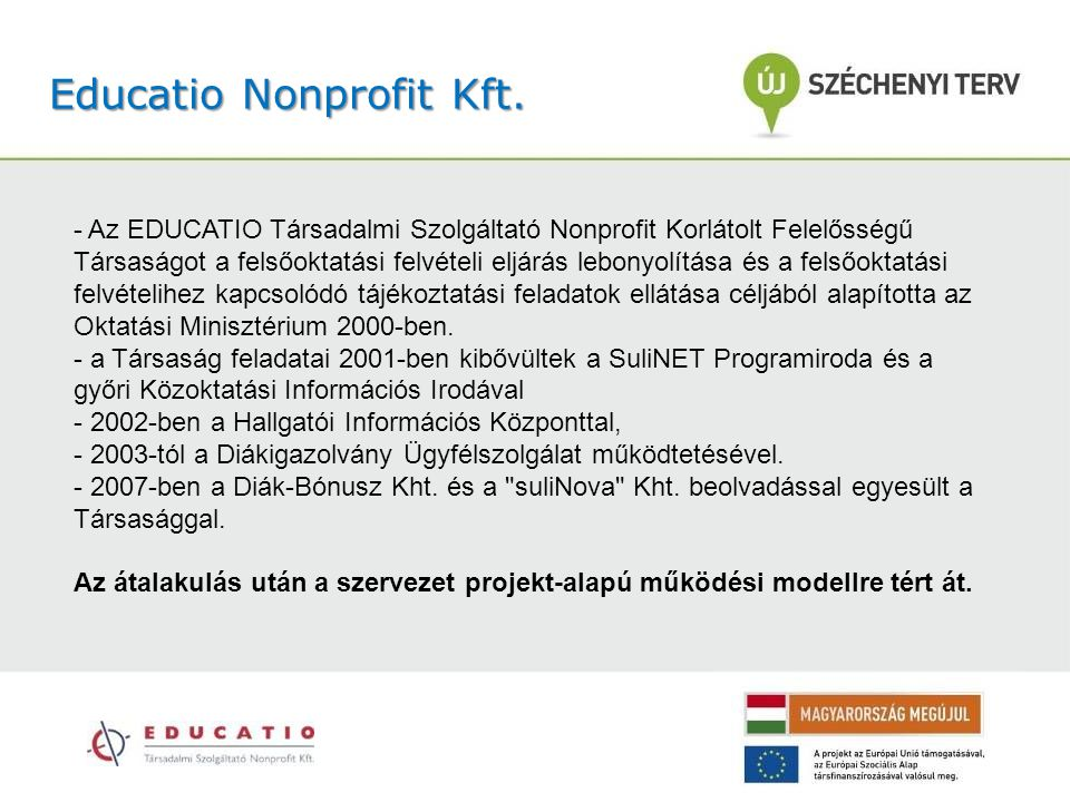 Educatio Nonprofit Kft.
