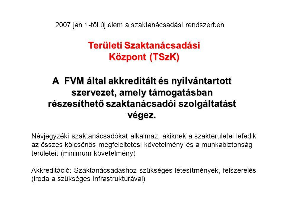 Területi Szaktanácsadási Központ (TSzK)