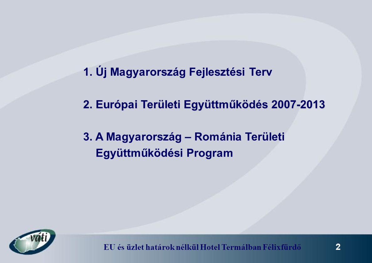 1. Új Magyarország Fejlesztési Terv