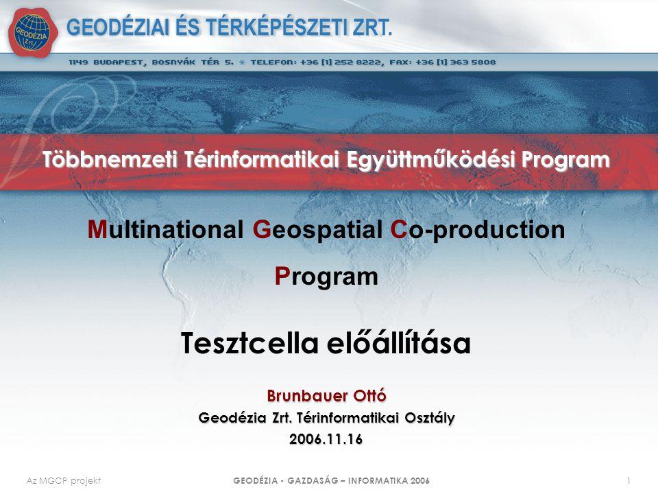 Többnemzeti Térinformatikai Együttműködési Program