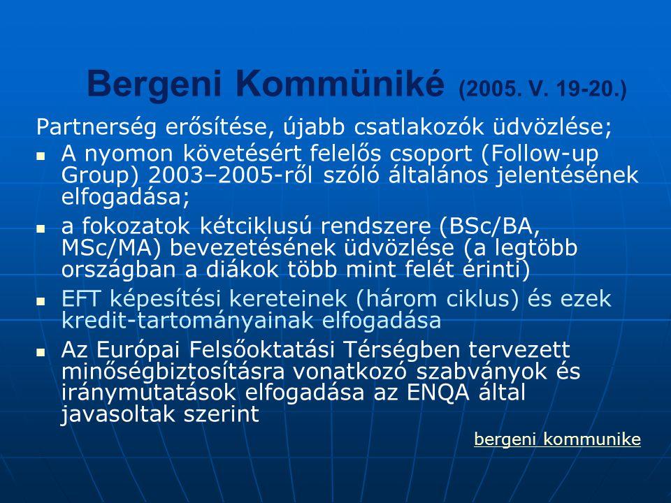 Bergeni Kommüniké (2005. V. 19-20.)