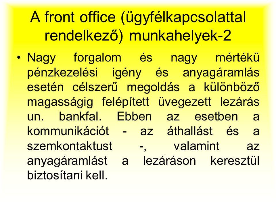 A front office (ügyfélkapcsolattal rendelkező) munkahelyek-2