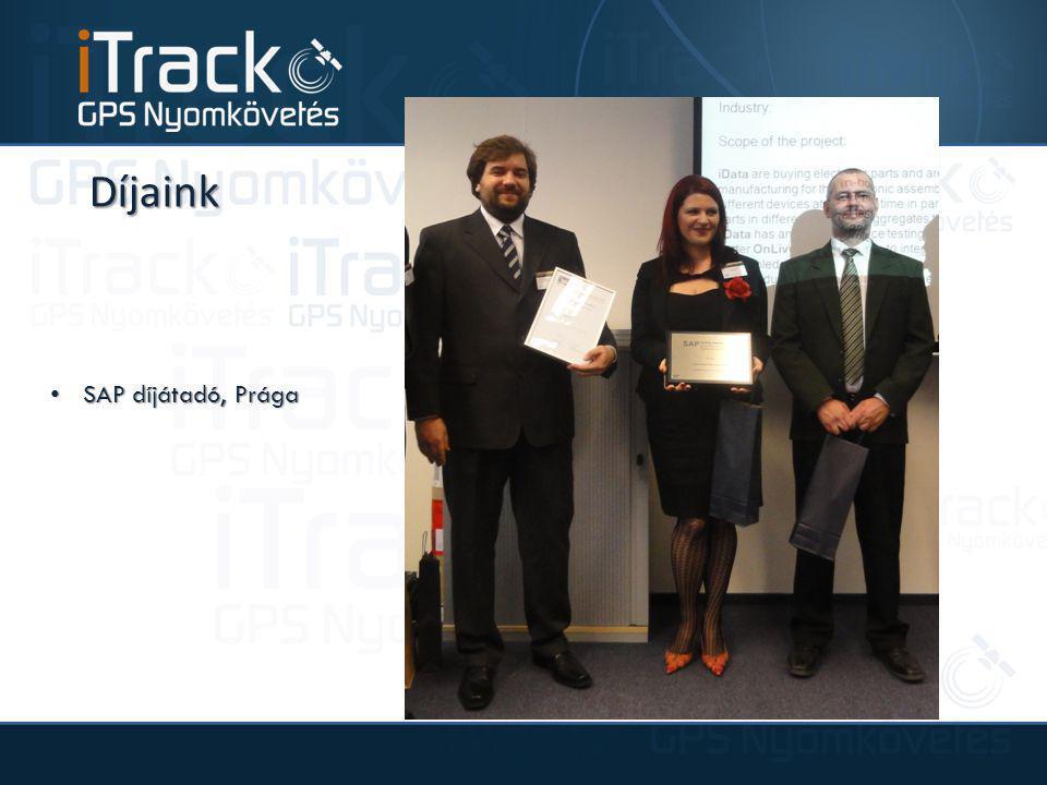 Díjaink SAP díjátadó, Prága