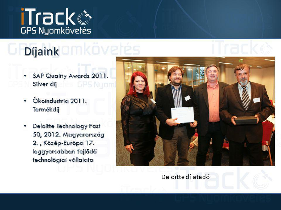Díjaink SAP Quality Awards 2011. Silver díj