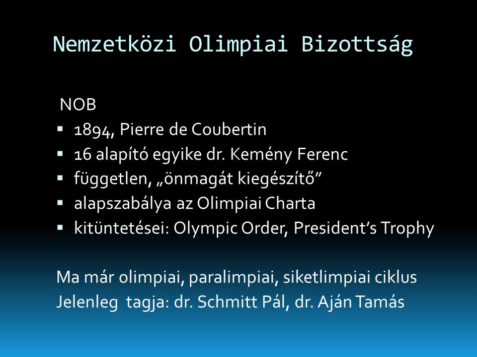 Nemzetközi Olimpiai Bizottság