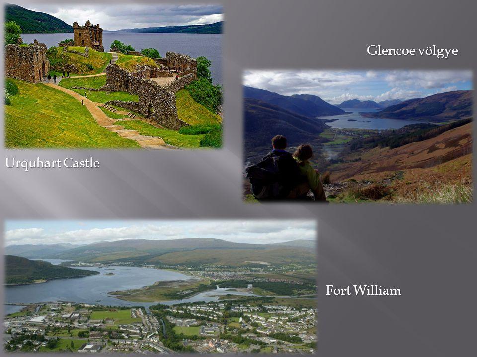 Glencoe völgye Urquhart Castle Fort William