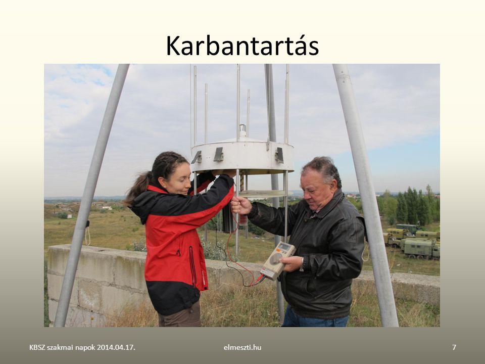 Karbantartás KBSZ szakmai napok 2014.04.17. elmeszti.hu