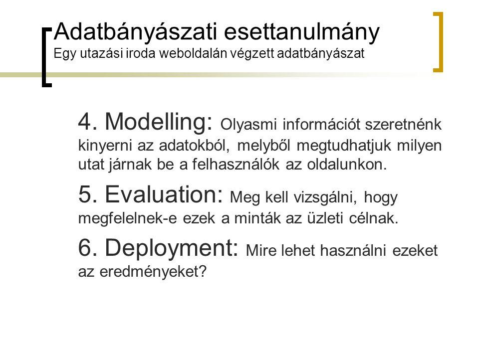 6. Deployment: Mire lehet használni ezeket az eredményeket