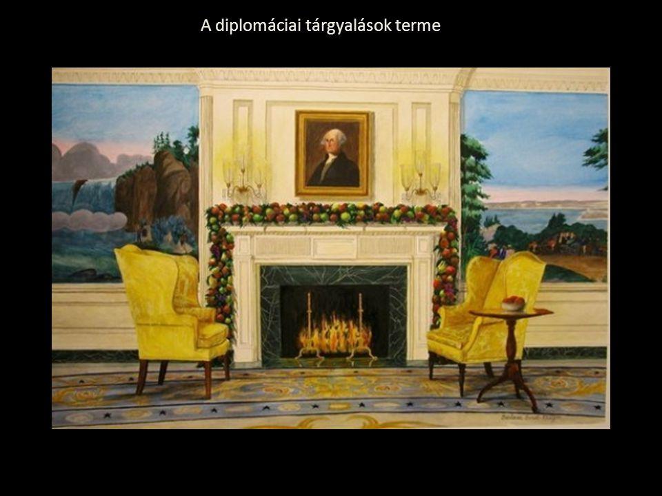 A diplomáciai tárgyalások terme