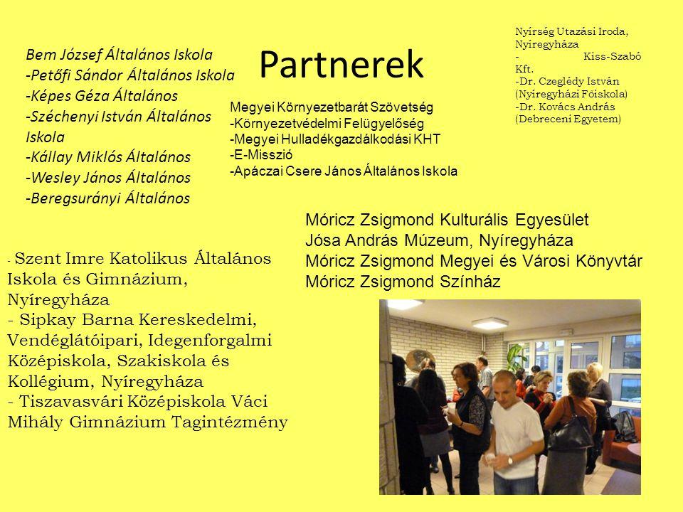 Partnerek Bem József Általános Iskola -Petőfi Sándor Általános Iskola