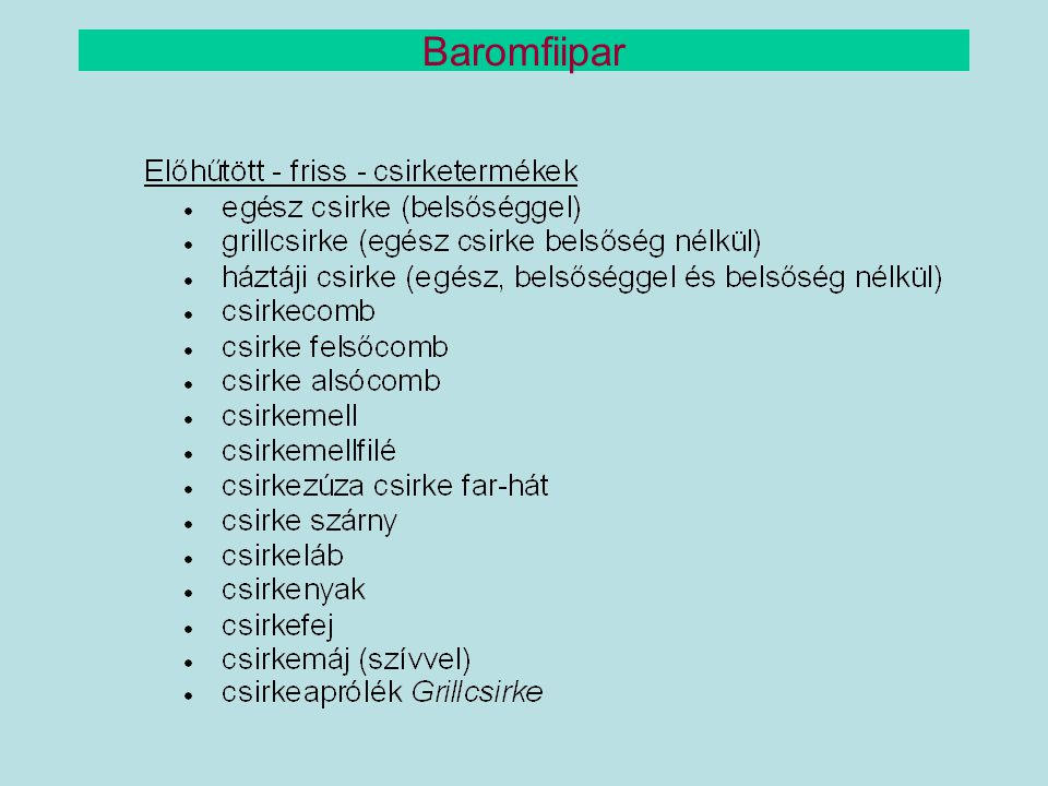 Baromfiipar