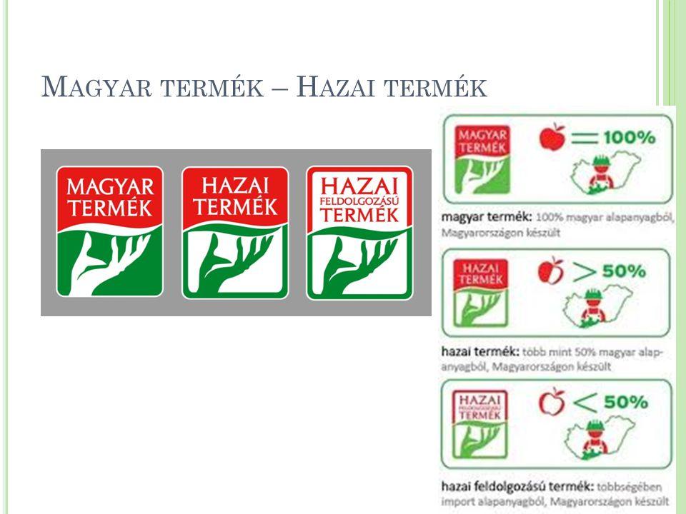 Magyar termék – Hazai termék