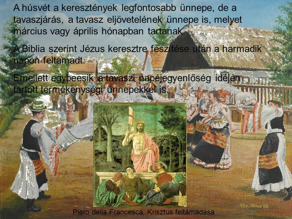 Piero della Francesca: Krisztus feltámadása