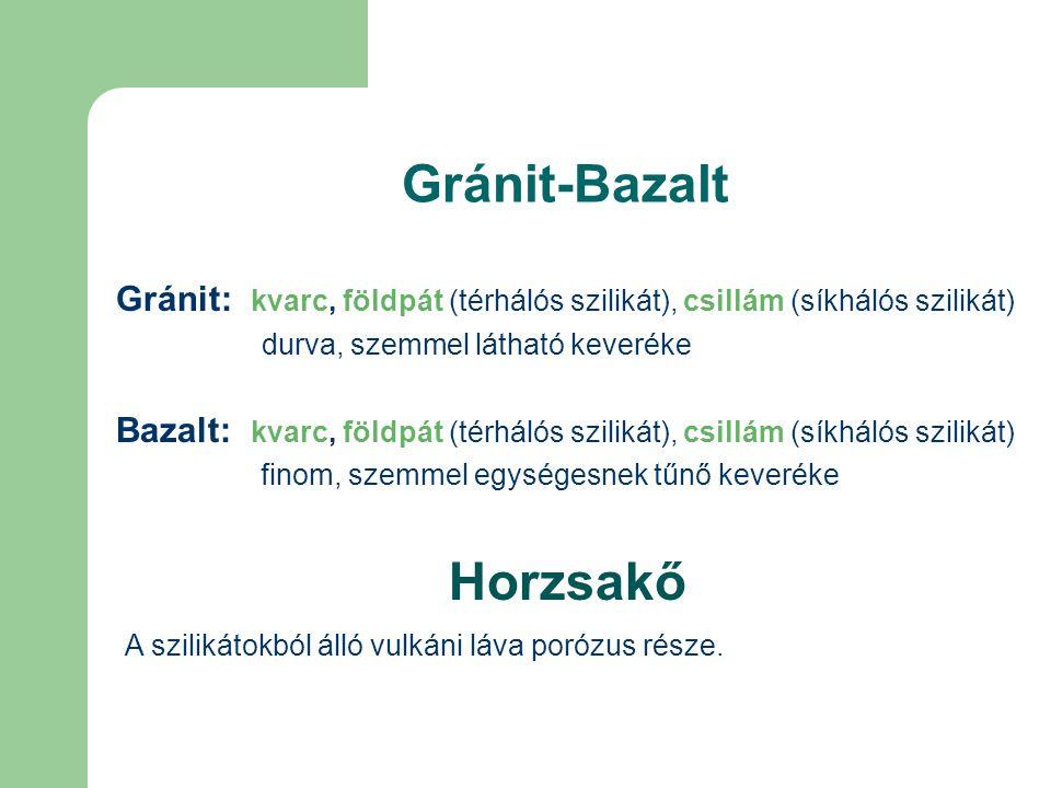 Gránit-Bazalt Horzsakő