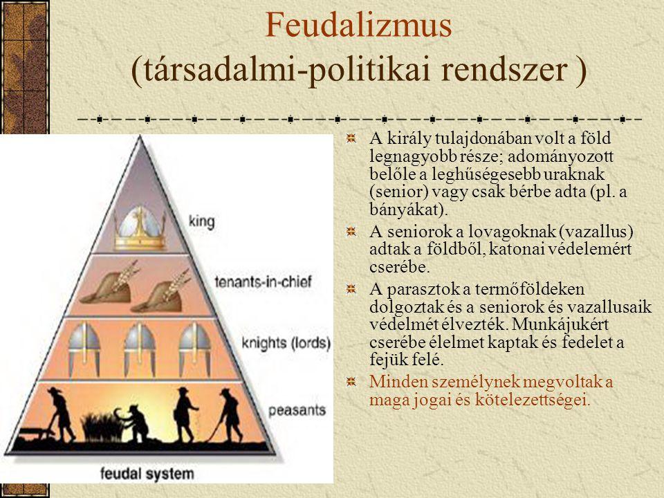 Feudalizmus (társadalmi-politikai rendszer )