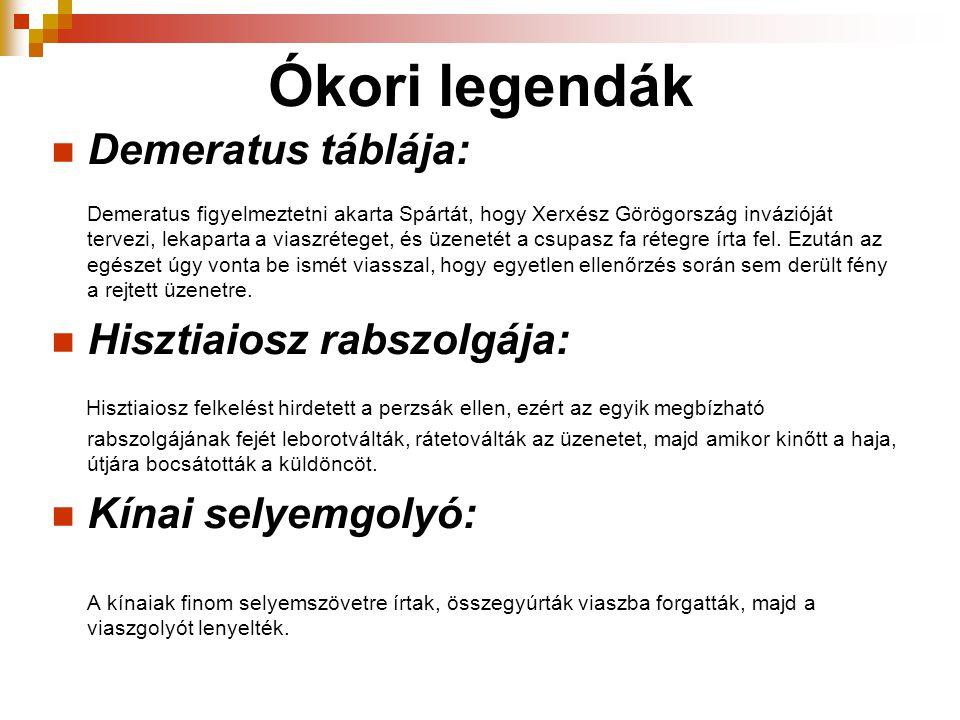 Ókori legendák