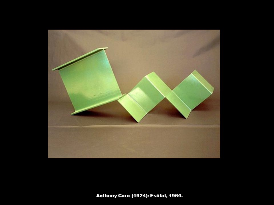 Anthony Caro (1924): Esőfal, 1964.