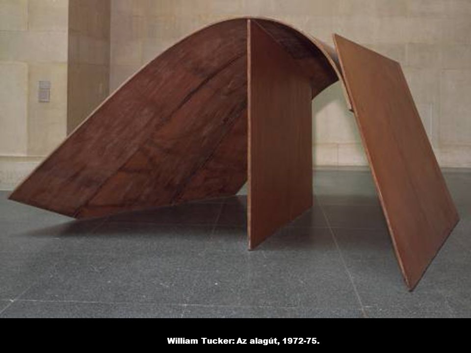 William Tucker: Az alagút, 1972-75.