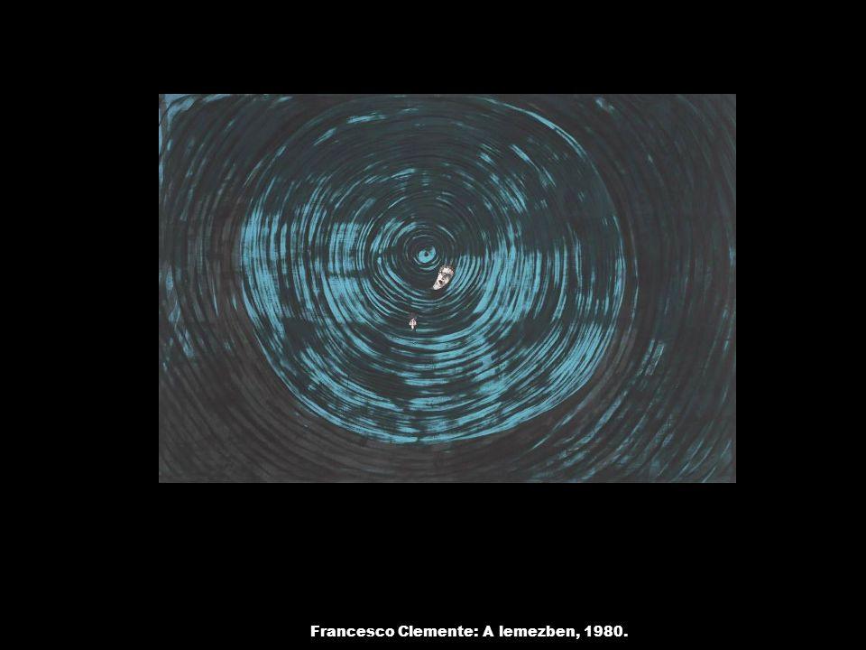 Francesco Clemente: A lemezben, 1980.