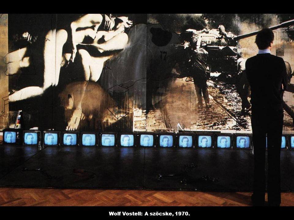 Wolf Vostell: A szöcske, 1970.
