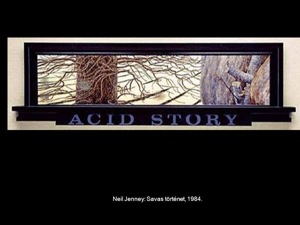 Neil Jenney: Savas történet, 1984.