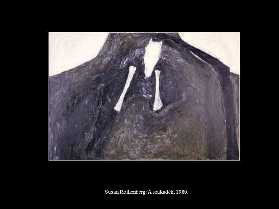 Susan Rothenberg: A szakadék, 1980.