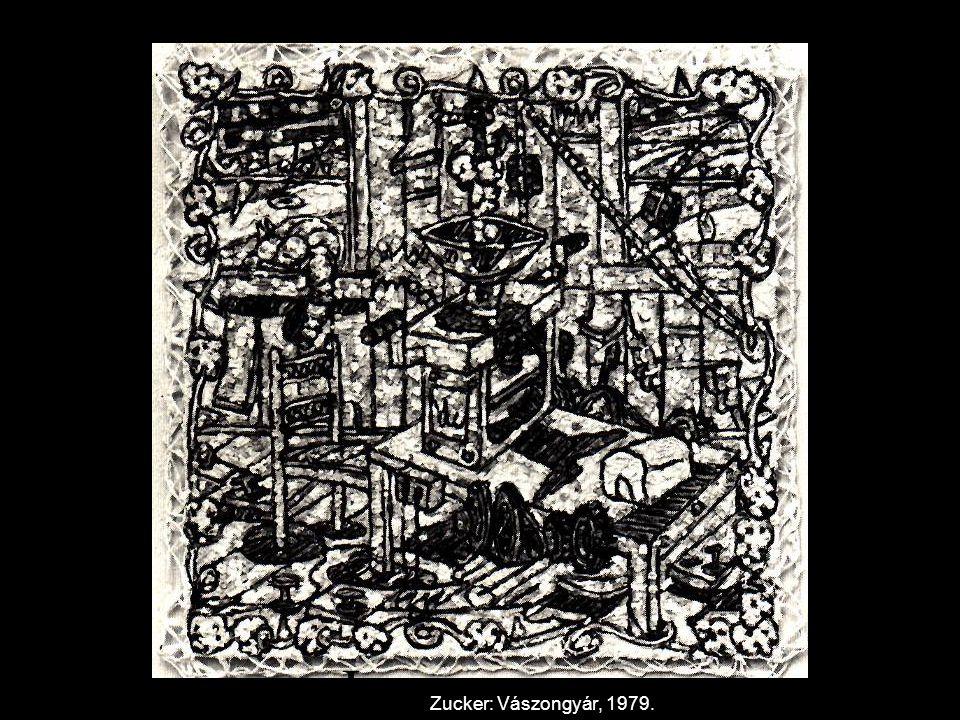 Joe Zucker: Vászongyár, 1979.