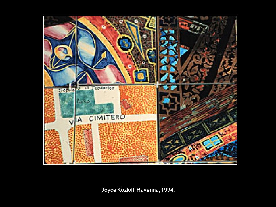 Joyce Kozloff: Ravenna, 1994.