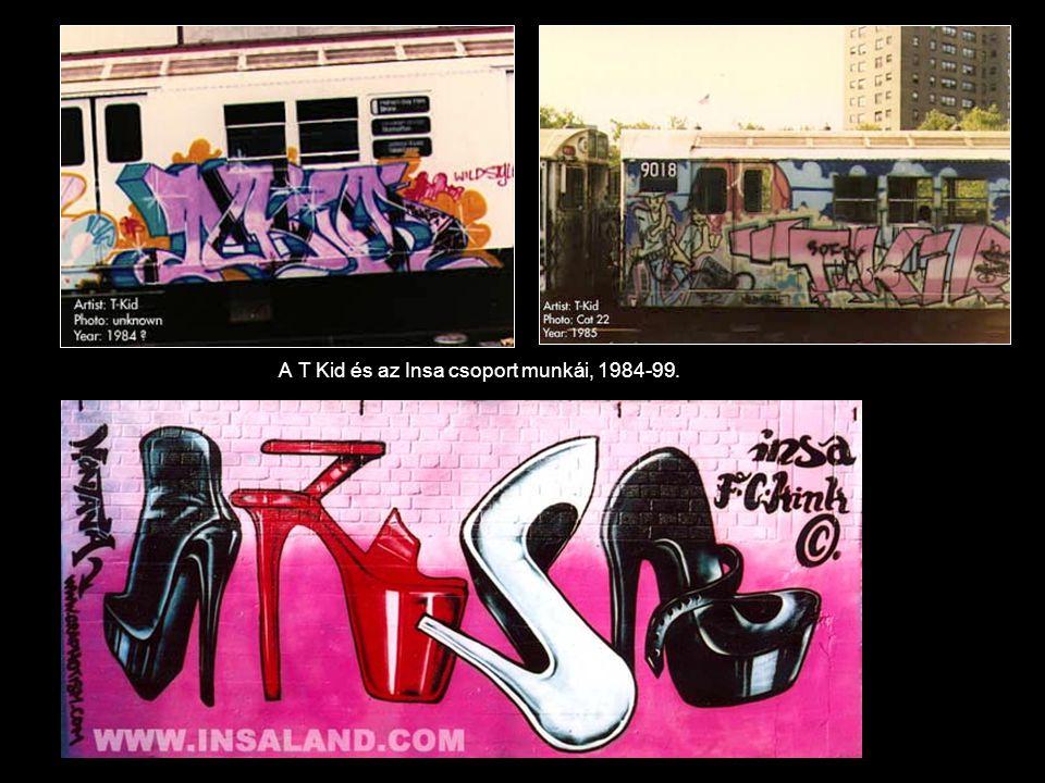 A T Kid és az Insa csoport munkái, 1984-99.