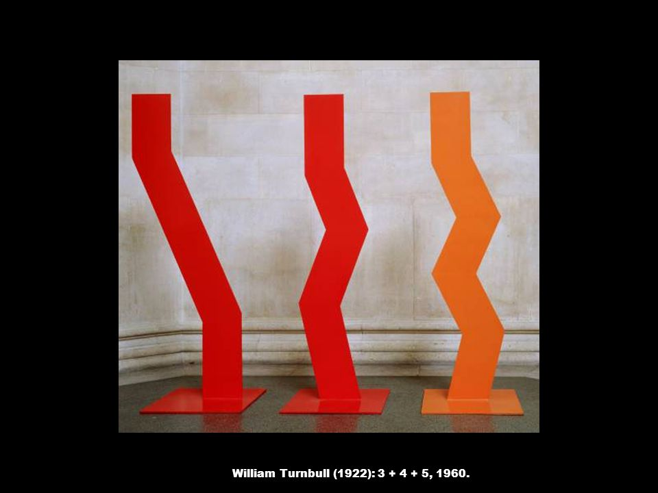 William Turnbull (1922): 3 + 4 + 5, 1960.