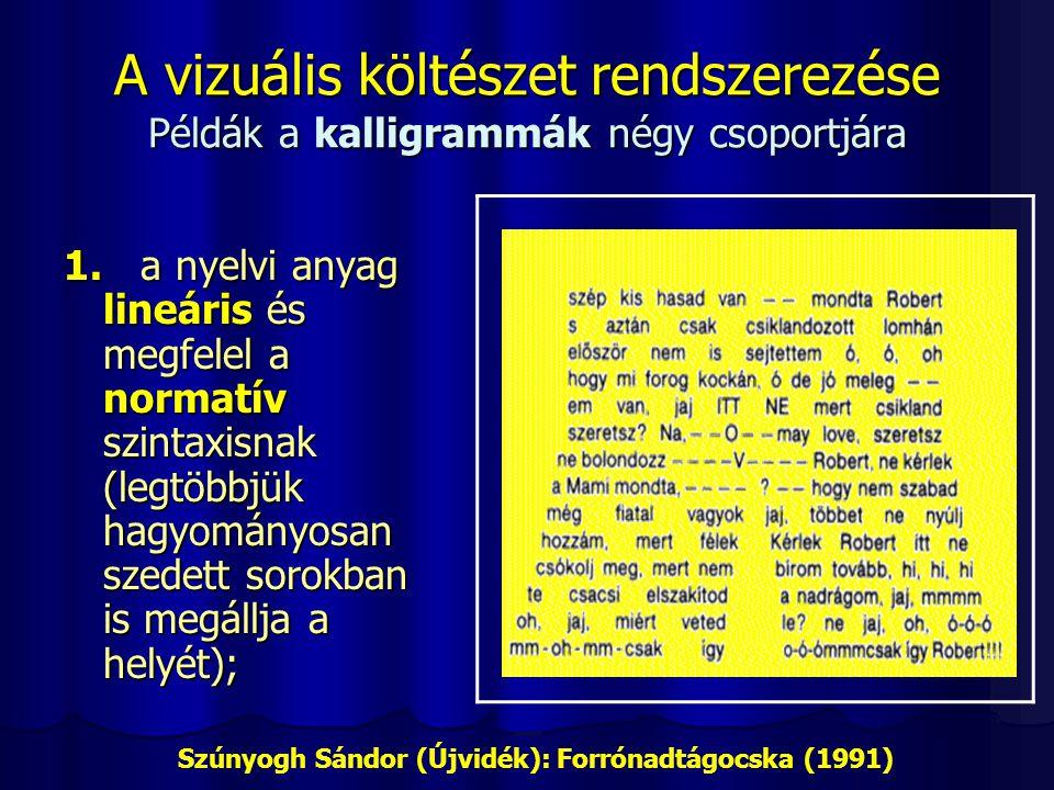 Szúnyogh Sándor (Újvidék): Forrónadtágocska (1991)