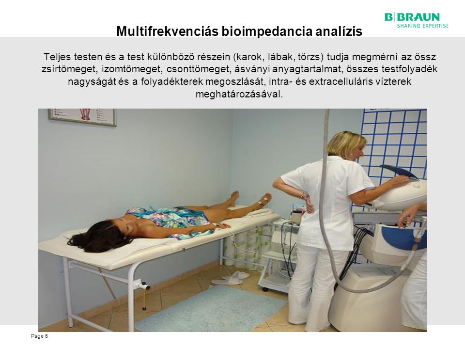 Multifrekvenciás bioimpedancia analízis