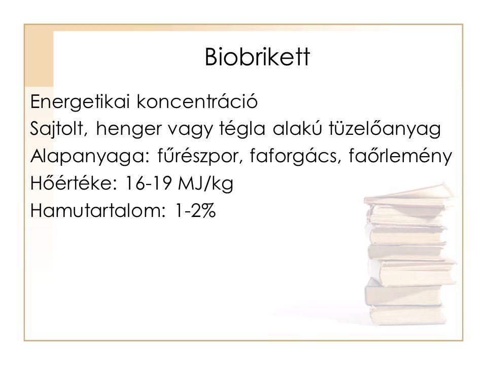 Biobrikett