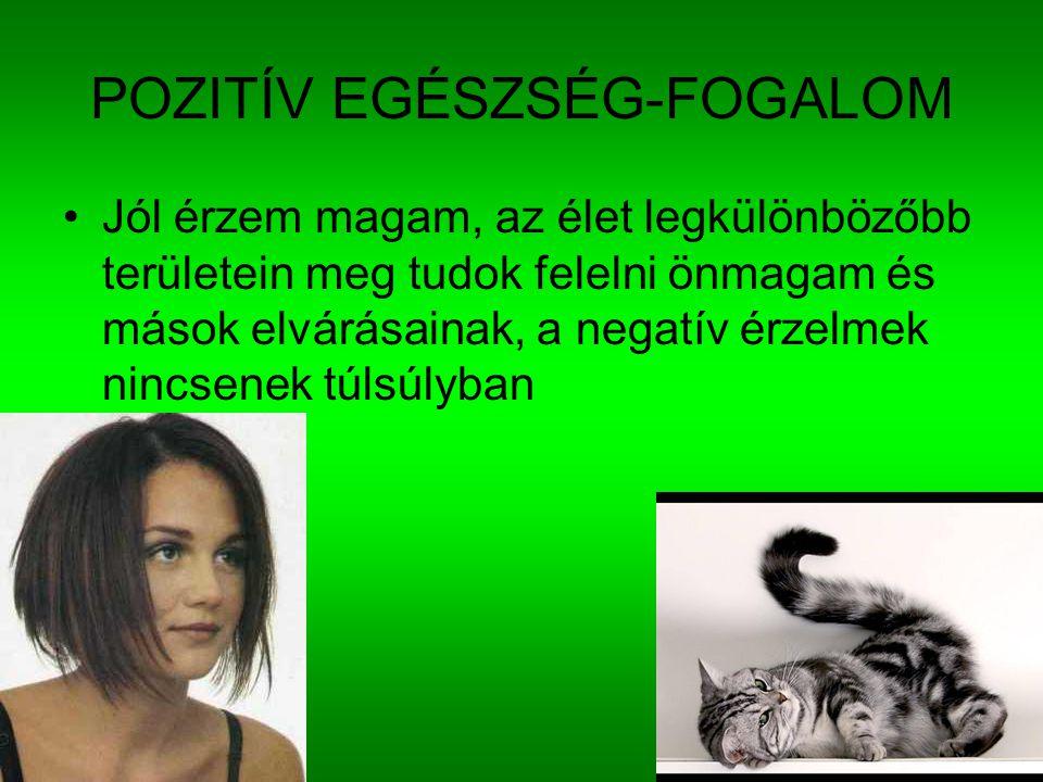 POZITÍV EGÉSZSÉG-FOGALOM
