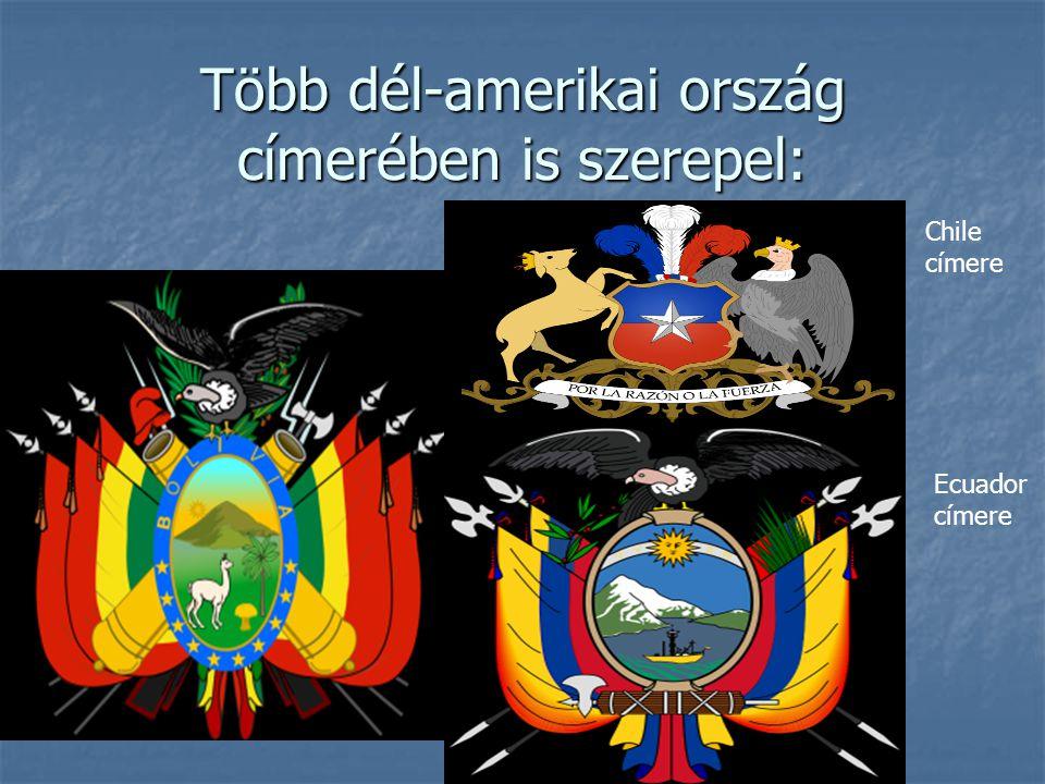 Több dél-amerikai ország címerében is szerepel: