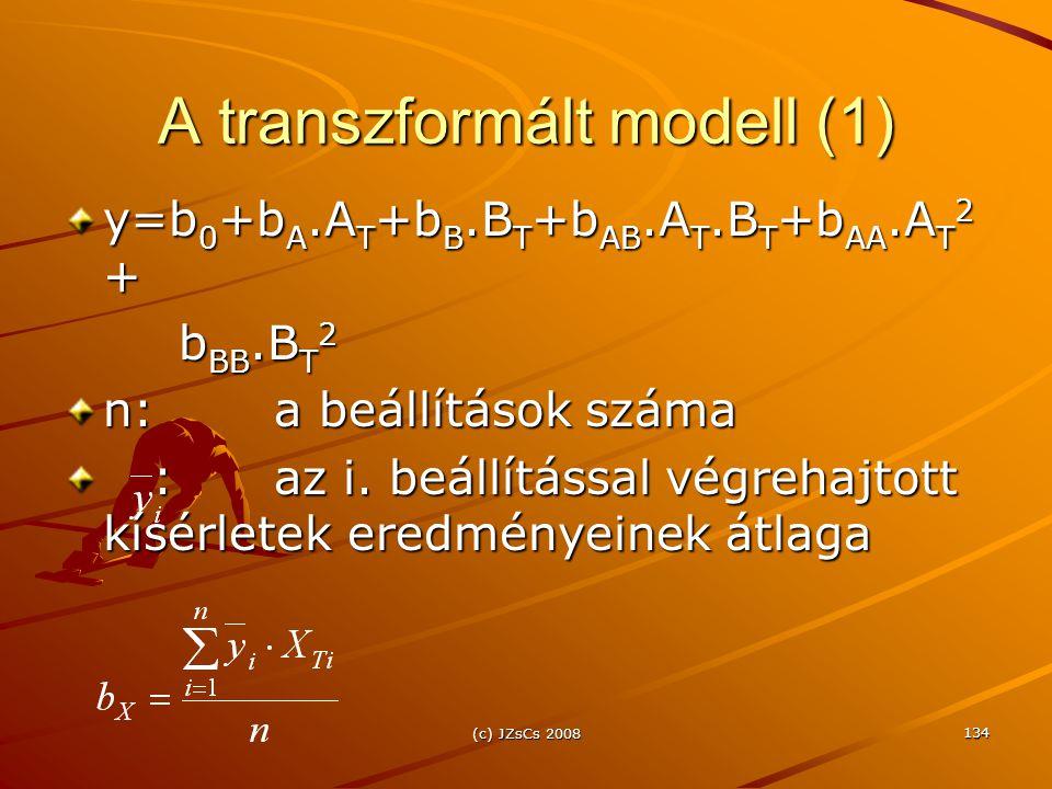 A transzformált modell (1)