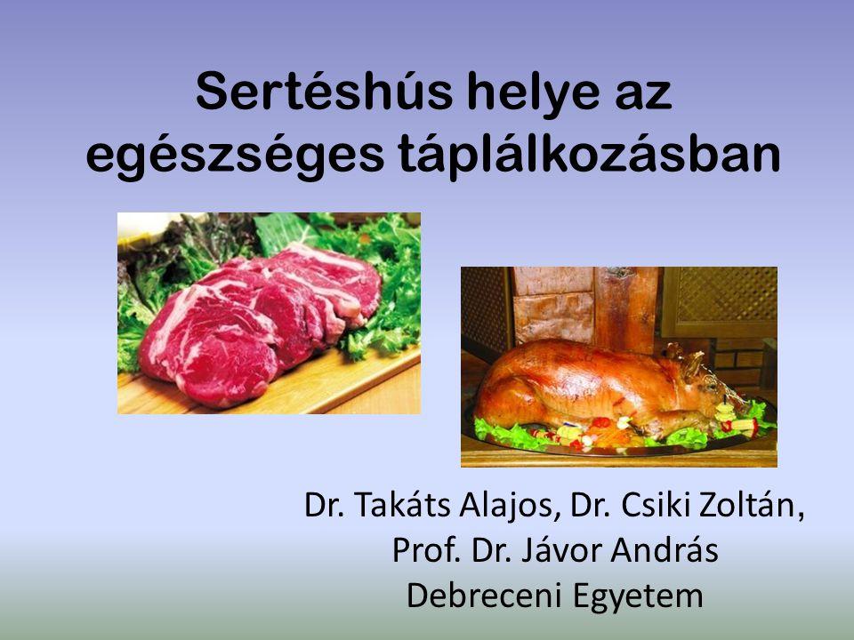 Sertéshús helye az egészséges táplálkozásban