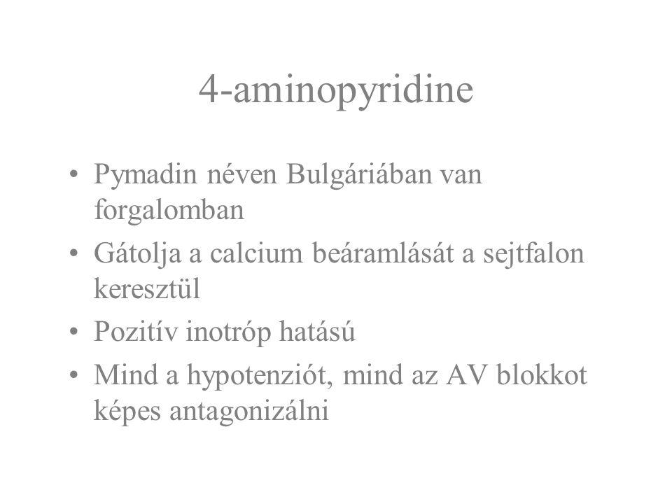4-aminopyridine Pymadin néven Bulgáriában van forgalomban