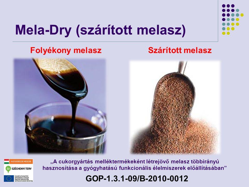 Mela-Dry (szárított melasz)