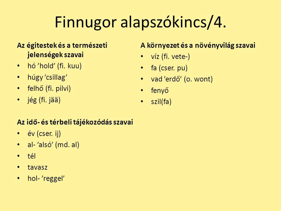 Finnugor alapszókincs/4.