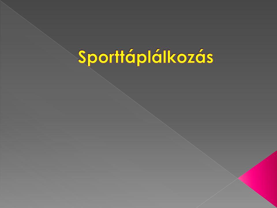 Sporttáplálkozás