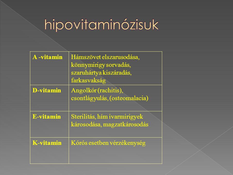 hipovitaminózisuk A -vitamin