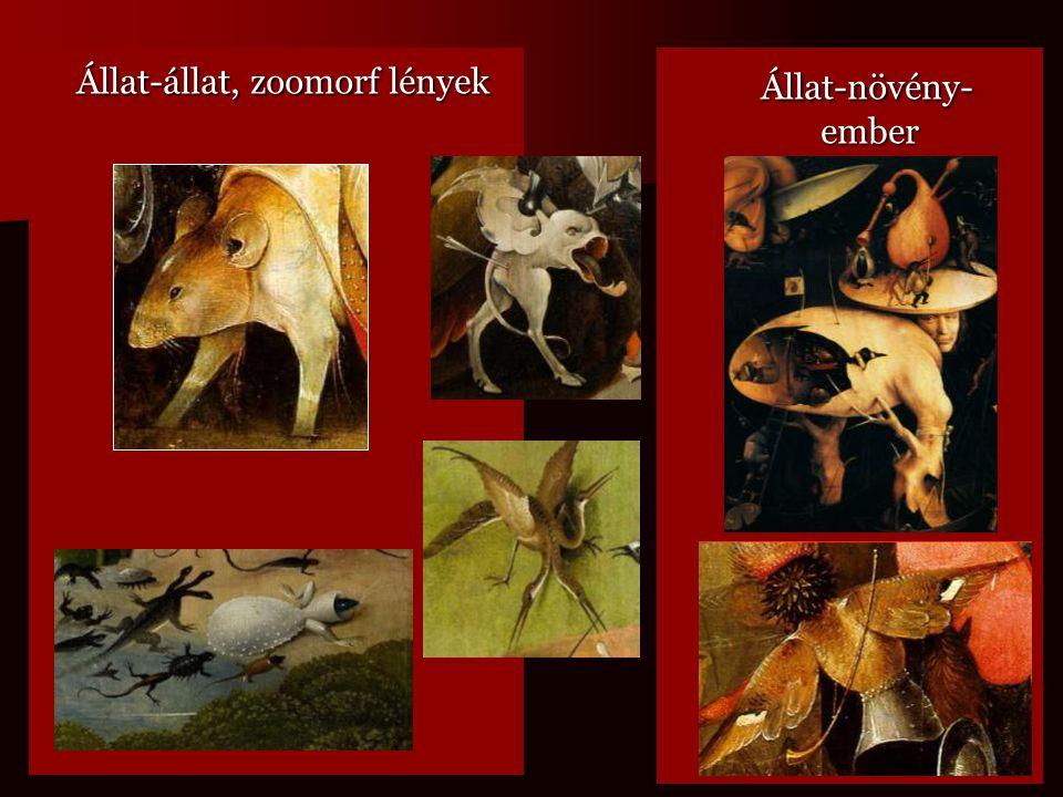 Állat-állat, zoomorf lények