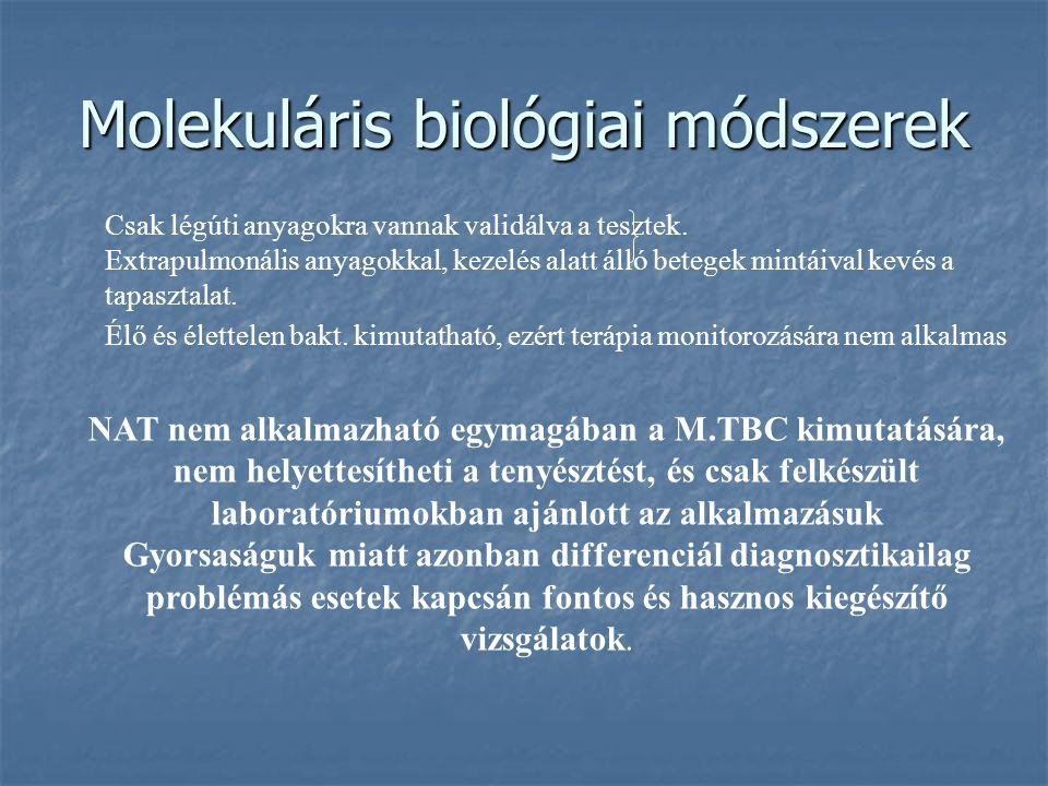 Molekuláris biológiai módszerek