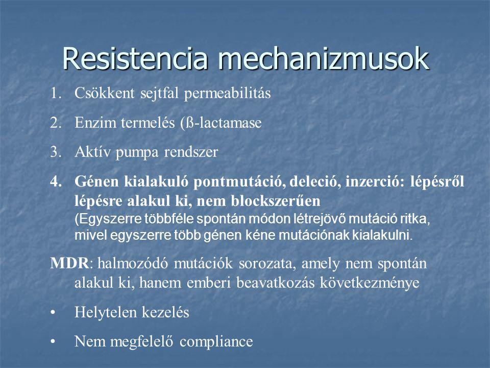 Resistencia mechanizmusok