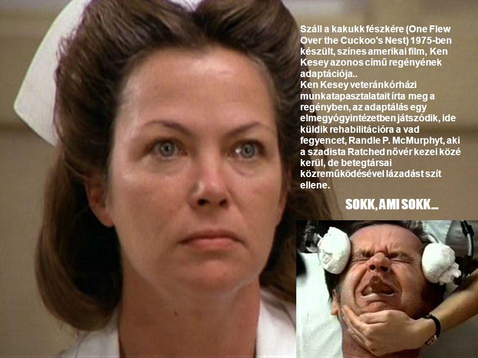 Száll a kakukk fészkére (One Flew Over the Cuckoo s Nest) 1975-ben készült, színes amerikai film, Ken Kesey azonos című regényének adaptációja..