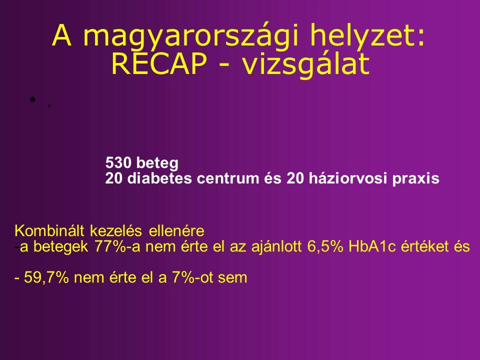 A magyarországi helyzet: RECAP - vizsgálat