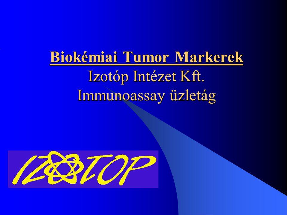 Biokémiai Tumor Markerek Izotóp Intézet Kft. Immunoassay üzletág